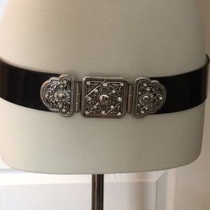 WHBM Belt, snap back closure